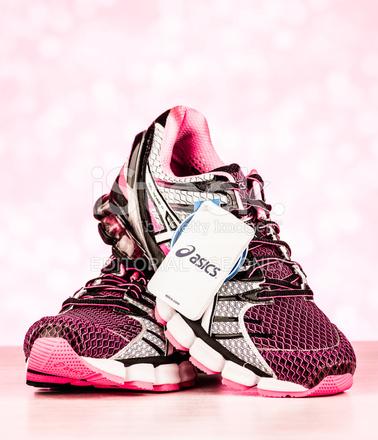 Asics Gel Kinsei 4 Women's Sports Shoes Stock Photos