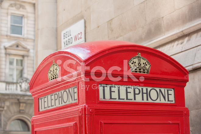 Foto Cabina Telefonica Di Londra : Cabina telefonica rossa simbolo di londra immagine stock