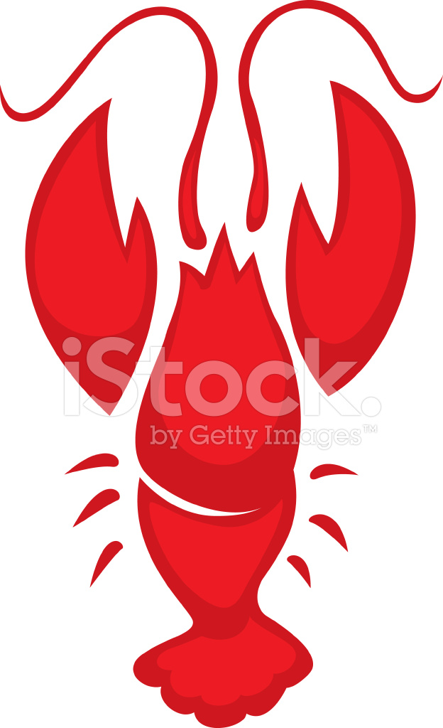 Simple Lobster Crawfish Stock Vector Freeimages Com