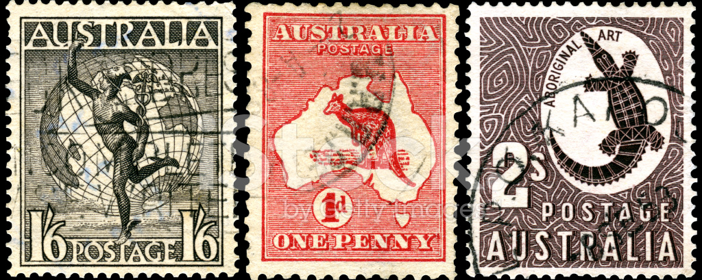 Vintage Postage Stamps Of Stock Photos Freeimages Com