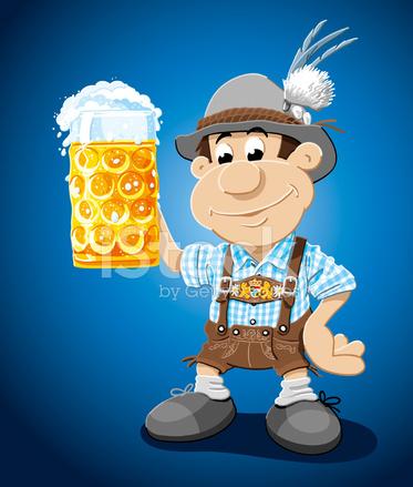 Calcas De Cabedal De Pedra De Cerveja Homem Dos Desenhos Animados