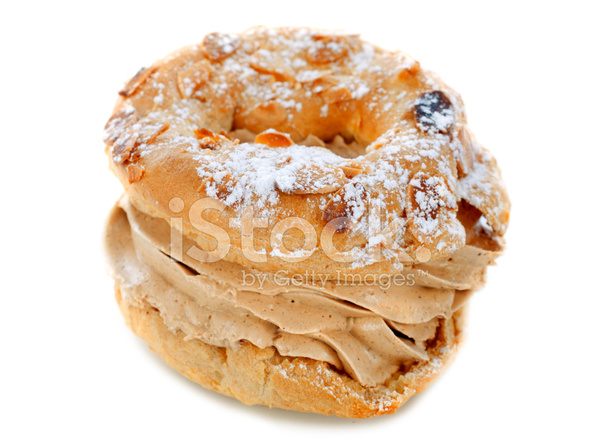 paris brest cake stock photos. Black Bedroom Furniture Sets. Home Design Ideas