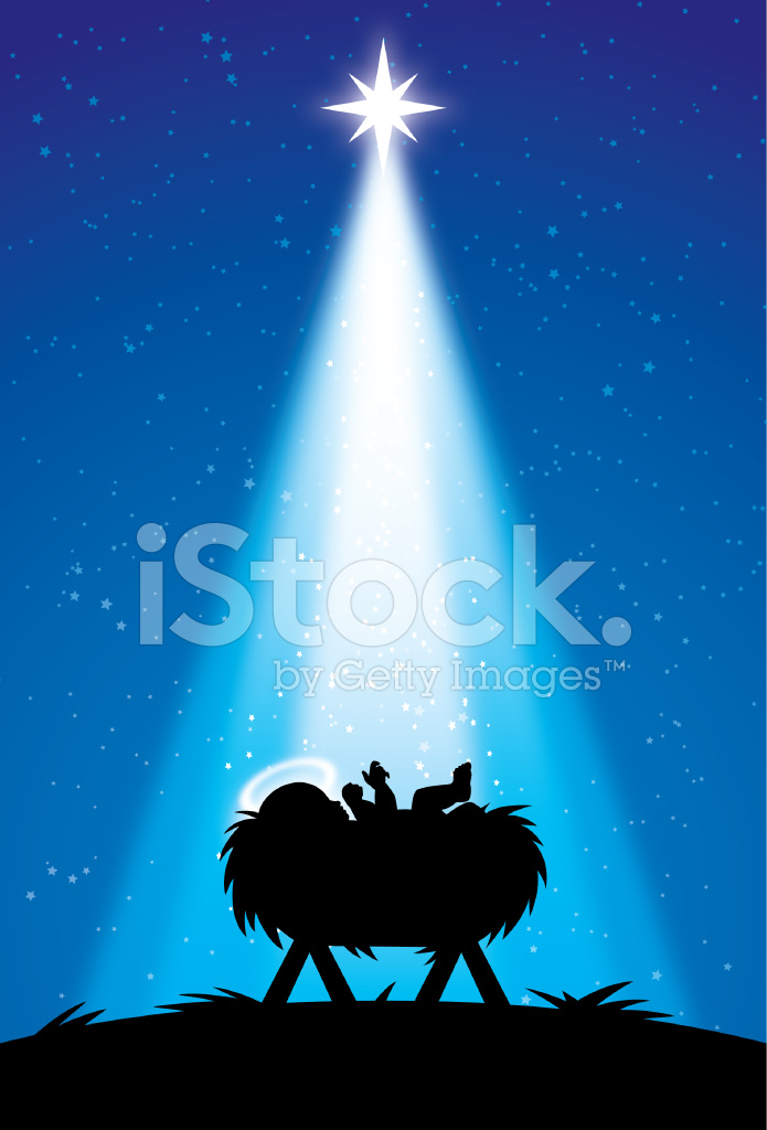 Baby Jesus Nativity Stock Vector Freeimages Com