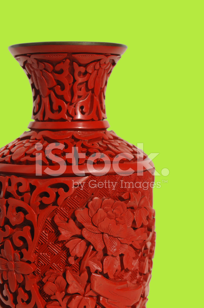 Red Chinese Vase Stock Photos Freeimages
