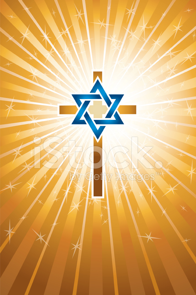 Messianic Jew Background Religion Stock Vector Freeimages