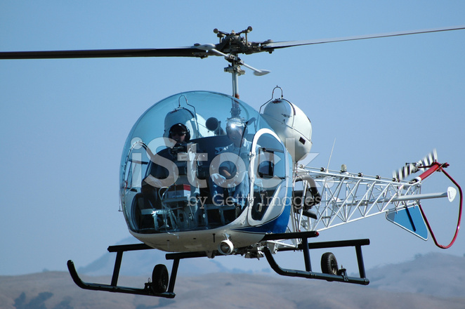 Premium Stock Photo of Fishbowl Canopy Helicopter Bell 47g & Fishbowl Canopy Helicopter Bell 47g Stock Photos - FreeImages.com