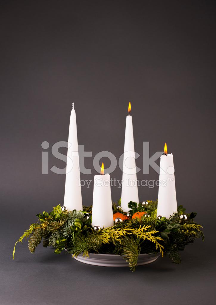 Advent Wreath Scandinavian Style Stock Photos Freeimages Com