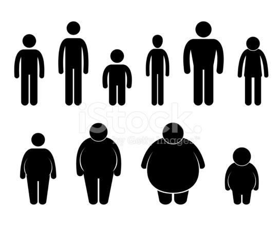 Mann Körper Abbildung Größe Piktogramm stockfotos
