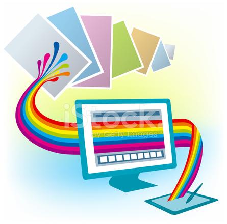 Tableta Grafica De Dibujo Diseno Computadora Monitor Copia Color