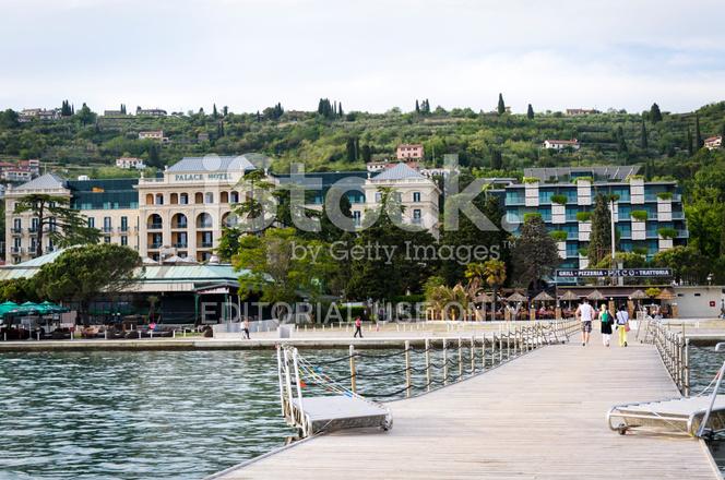 Portoroz Riviera With Kempinski Palace Hotel Slovenia Europe Stock - Palace-hotel-in-slovenia