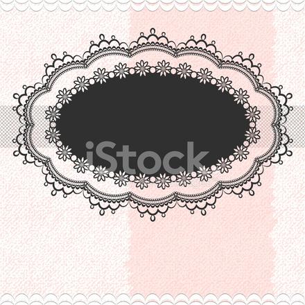 Vintage Frame Sullo Sfondo Texture Stock Vector Freeimagescom