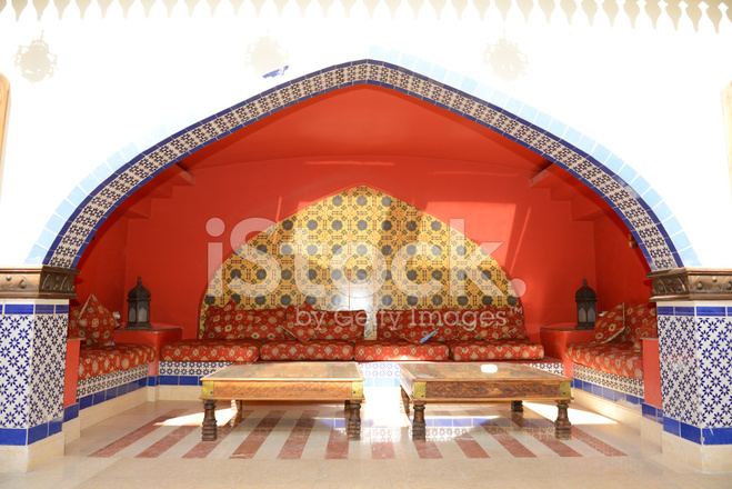 Lounge dekoration p luxury hotel sharm el sheik egypten stockfoton - Dekoration lounge ...