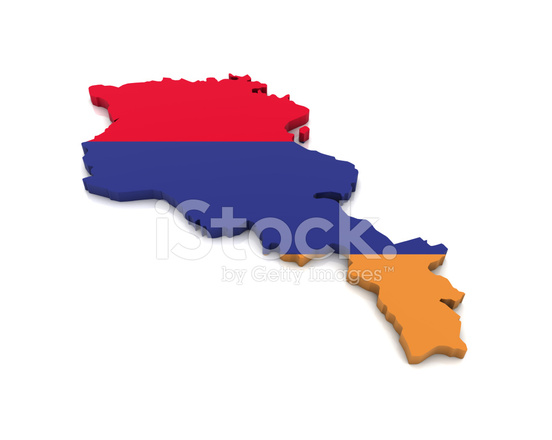 Armenien Karte.Karte Von Armenien Stockfotos Freeimages Com