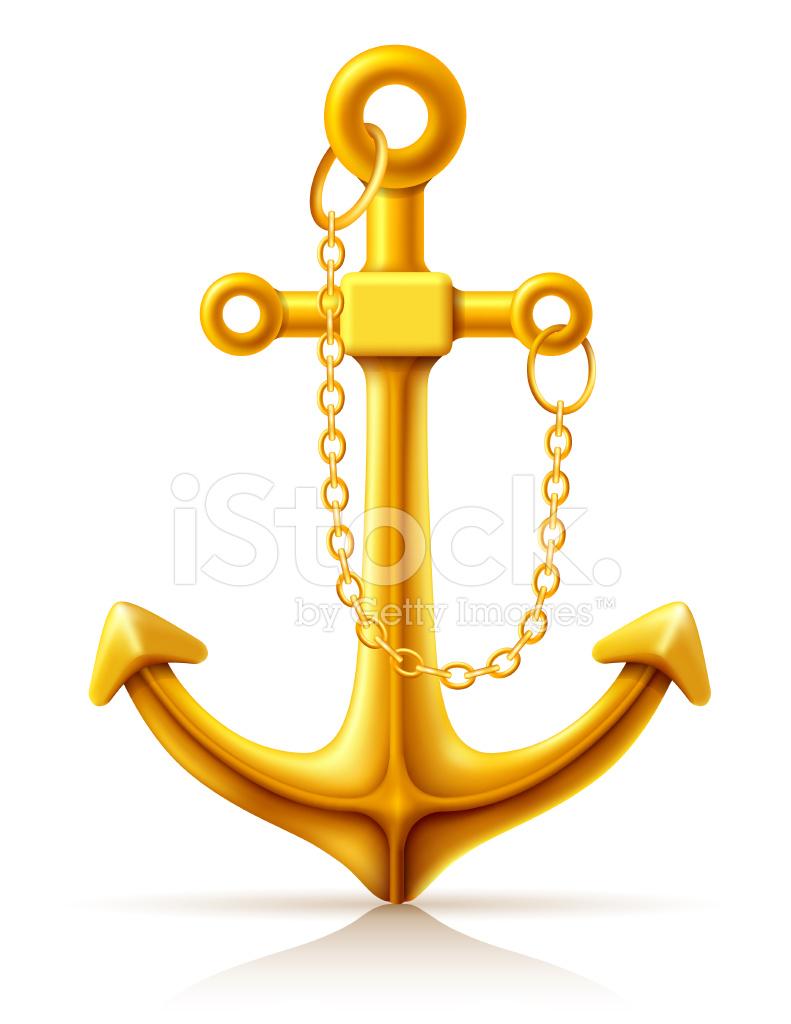 3d gold anchor photo - photo #42