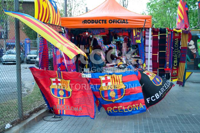 b15fb36f0 FC Barcelona Shop Stock Photos - FreeImages.com