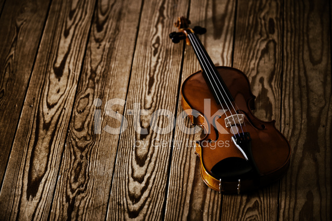 Violin on Floorboards Stock Photos - FreeImages com