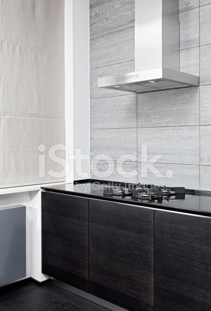 Fornello A Gas E Cottura Cappa Cucina IN Stile Moderno ...