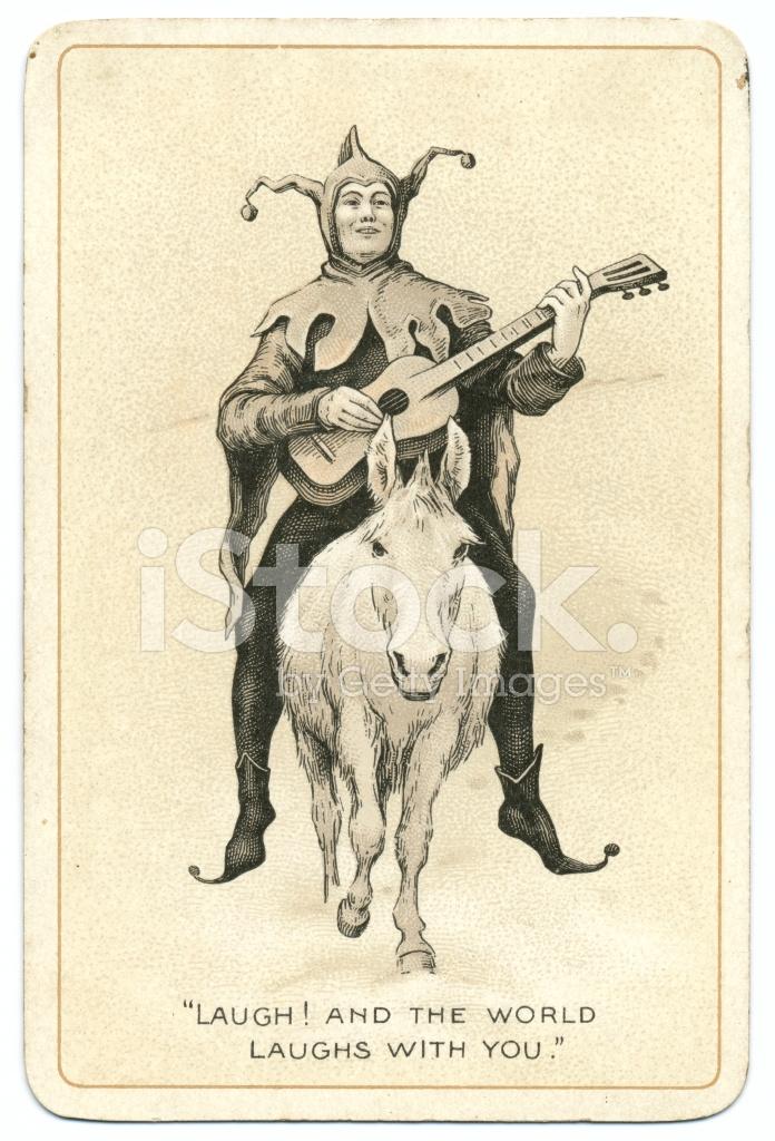 old joker card