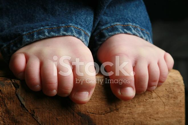 Little Boys Legs And Feet
