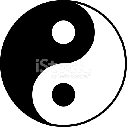 Yin Yang Symbool Stock Vector Freeimages