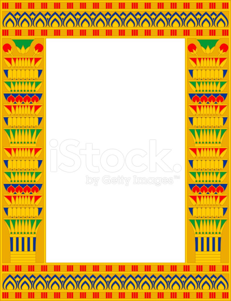 Egypt Frame Stock Vector - FreeImages.com