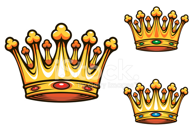 Royal King Crown Stock Vector Freeimages Com