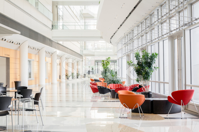 Modern Office Lobby Stock Photos - FreeImages.com