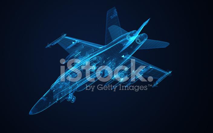 3d Wire Frame Skizze F 18 Hornet Stockfotos - FreeImages.com
