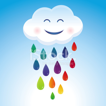 vector de dibujos animados nubes y arco iris gotas stock hot dog clipart free free hot dog clipart images