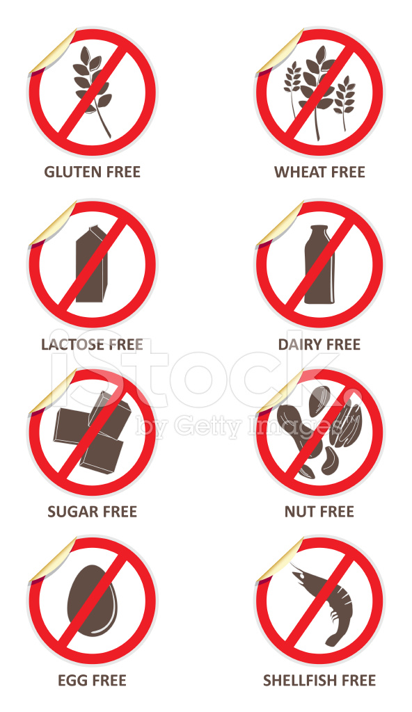 Allergen Free Stickers Stock Photos Freeimages