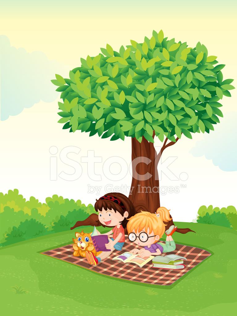 u7537 u5b69 u548c u5973 u5b69 u5728 u6811 u4e0b u5b66 u4e60 stock vector freeimages com tree of life vector clip art tree of life vector clip art free