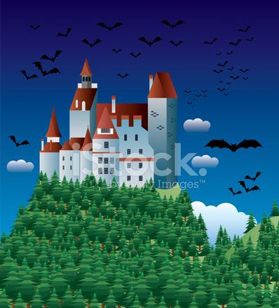 Furioso conte dracula personaggio dei cartoni animati di vampiro