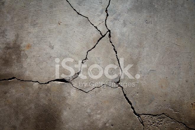 Gebrochene Betonfussboden Stockfotos Freeimages Com