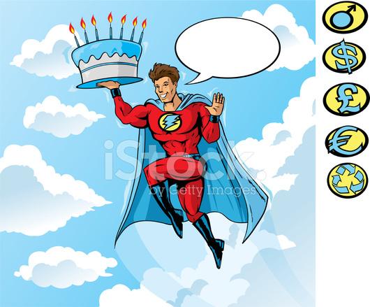 Super Verjaardag Stock Vector Freeimages Com