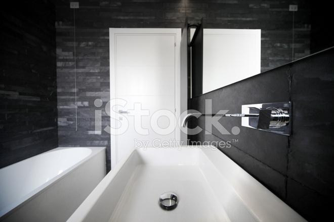 욕실 인테리어 회색 톤 디자인 스톡 사진 - FreeImages.com