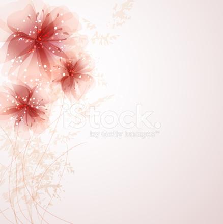 Fond DE Vecteur Avec Fleurs Pastels Stock Vector