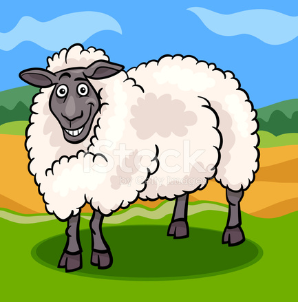 Illustration de dessin anim animaux ferme mouton photos - Mouton dessin anime ...