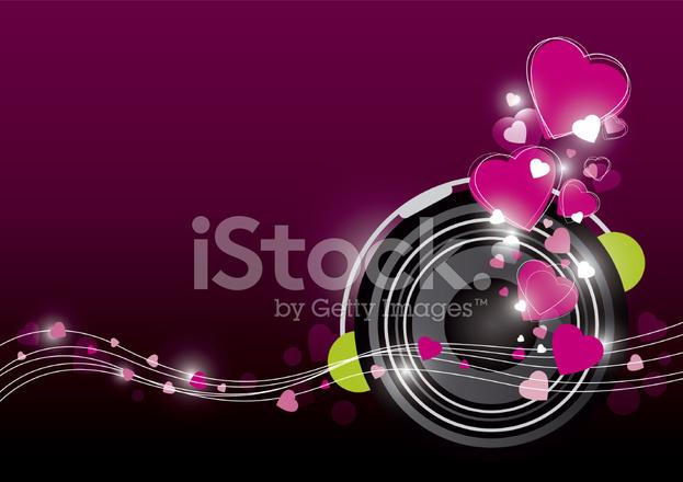 Müzik Arka Plan Tasarımı Stock Vector Freeimagescom