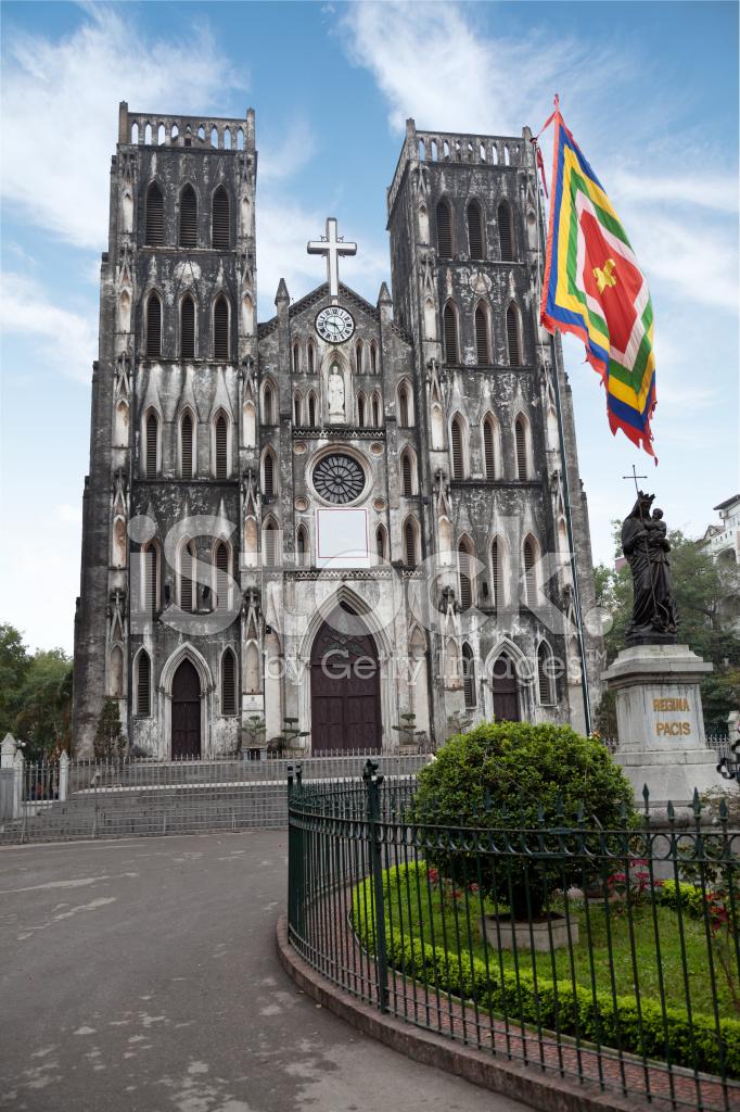 St Joseph S Cathedral Hanoi Stock Photos Freeimages Com