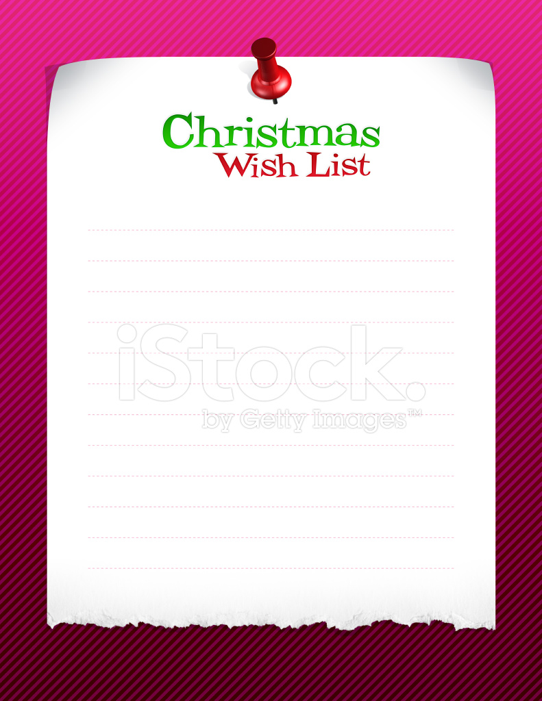 Christmas Wish List Stock Photos - FreeImages com