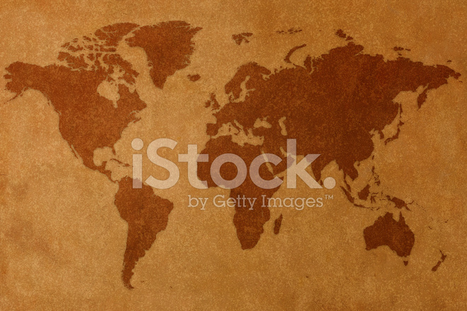 World Map and Compass Stock Photos - FreeImages com