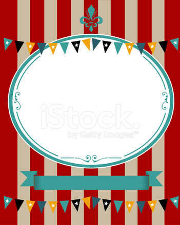 Circus Poster Stock Vector Freeimages Com