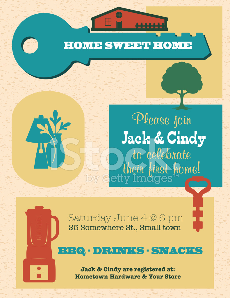 Housewarming Invitation Template  Housewarming Invitations Templates