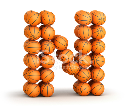 Letter N Basketball Stock Photos Freeimages Com