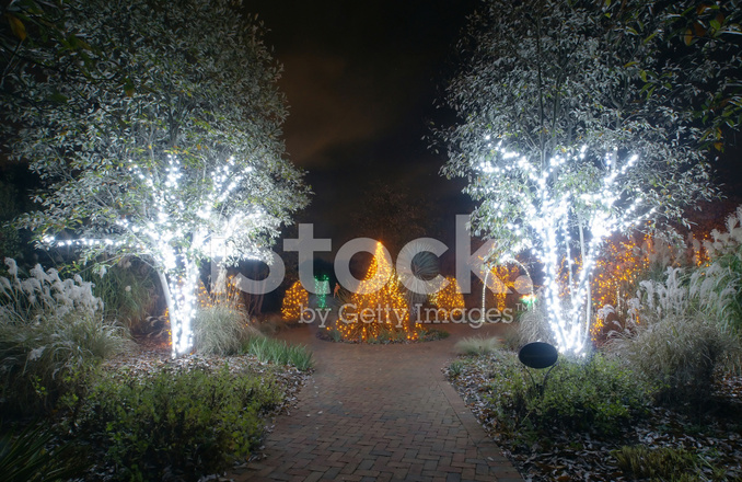 Outdoor christmas decorations stock photos for Professional outdoor christmas decorations
