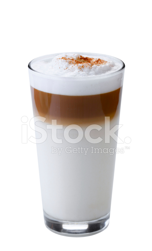 latte macchiato stock photos. Black Bedroom Furniture Sets. Home Design Ideas