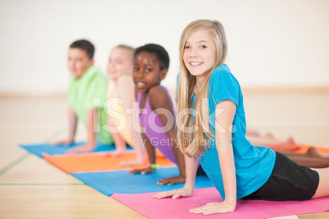 Kids Yoga Stock Photos Freeimages Com