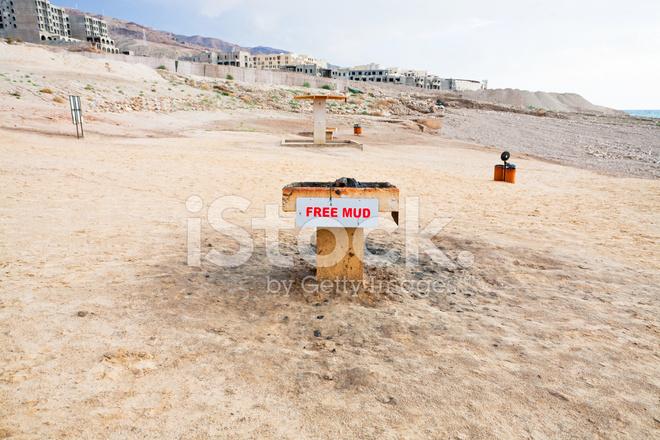 döda havet lera