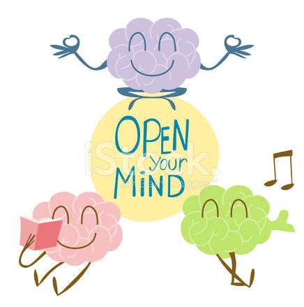 open your mind singing reading yoga stock photos. Black Bedroom Furniture Sets. Home Design Ideas