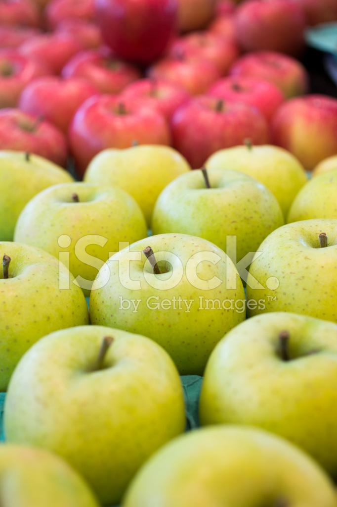 green and red apples. green and red apples